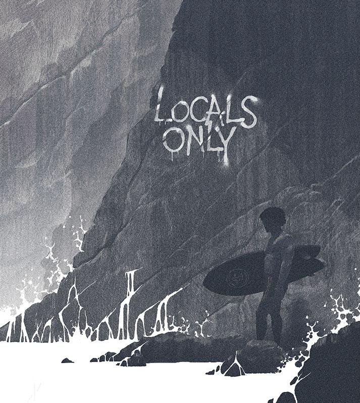 Surf life - Edition mango- Localisme