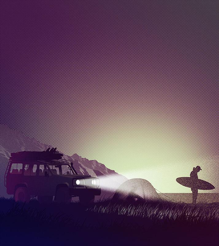 Surf life - Edition mango- Surf life