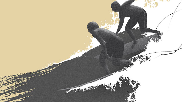 Surf life - Edition mango- Goofy Regular
