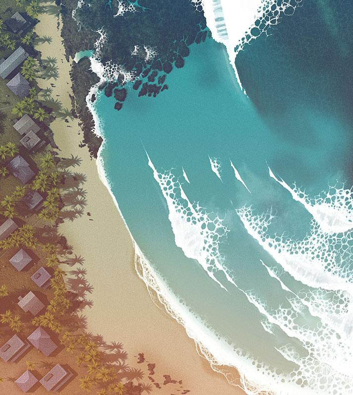 Surf life - Edition mango - Reef Beach break