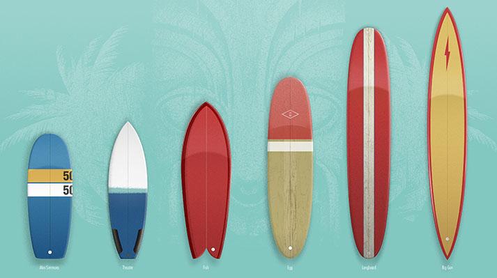 Surf life - Edition mango - Planches