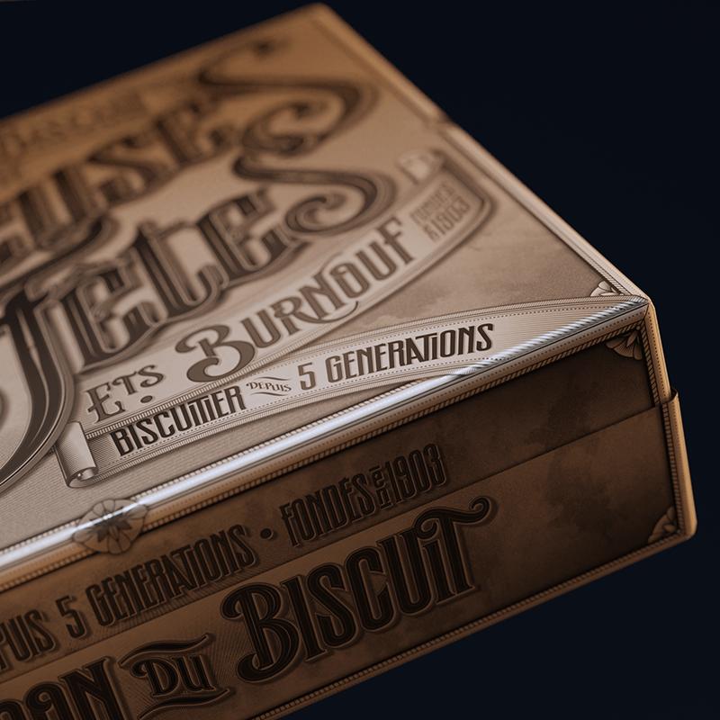 La maison du biscuit - Packaging - Joyeuses fêtes - 02