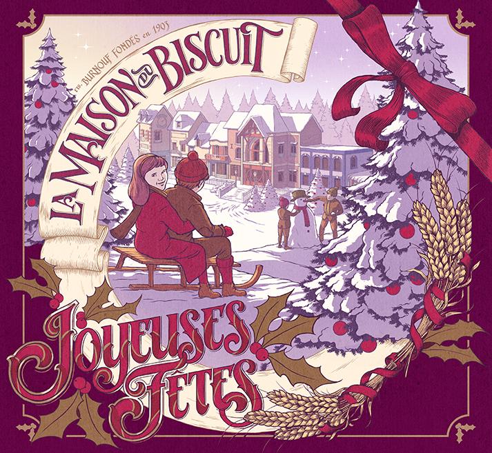 La maison du biscuit - Joyeux Noël 01