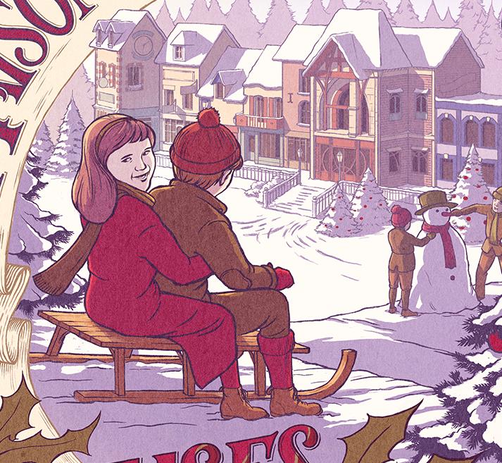 La maison du biscuit - Joyeux Noël 02