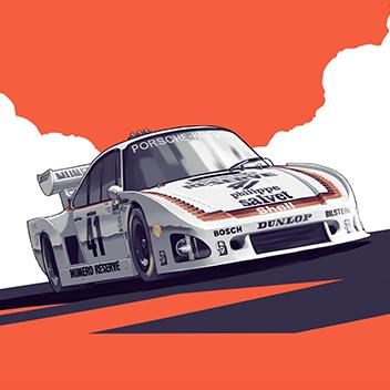 Drivers Club Company - Porsche 935 K3 Vignette